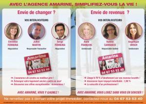 Simplifiez vous la vie avec l'Agence AMARINE